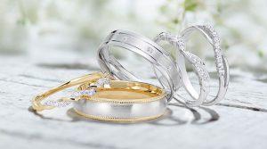 Vestuviniai žiedai – vestuvių šventės organizavimo pradžia
